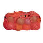 MESH DUFFLE BAG RED