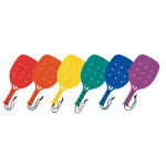 PLASTIC PADDLEBALL RACKET SET