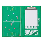 MAGNETIC SOCCER CLIPBOARD SET