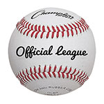 OFFICIAL LEAGUE FULL GRAIN COWHIDE LEATHER BASEBALL