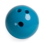 4 LB RUBBERIZED PLASTIC BOWLING BALL