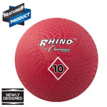 10 INCH PLAYGROUND BALL RED
