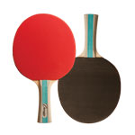 7 PLY PIPS IN/OUT RUBBER FACE TABLE TENNIS PADDLE