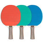 5 PLY RUBBER FACE TABLE TENNIS PADDLE