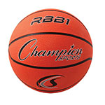 OFFICIAL SIZE RUBBER BASKETBALL ORANGE