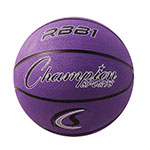 OFFICIAL SIZE RUBBER BASKETBALL PURPLE