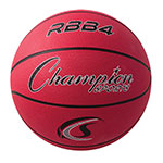INTERMEMIATE RUBBER BASKETBALL RED