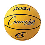 INTERMEDIATE RUBBER BASKETBALL YELLOW
