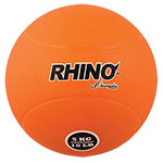 5 KILO RUBBER MEDICINE BALL ORANGE