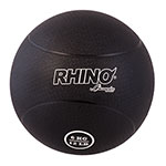 6 KILO RUBBER MEDICINE BALL BLACK