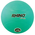 7 KILO RUBBER MEDICINE BALL GREEN