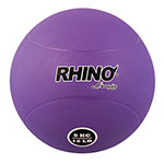 8 KILO RUBBER MEDICINE BALL PURPLE