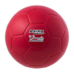 RHINO SKIN MOLDED FOAM SOCCER BALL SIZE 4 RED