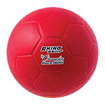 RHINO SKIN MOLDED FOAM SIZE 3 MINI SOCCER BALL RED