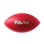 RHINO SKIN MOLDED FOAM FOOTBALL RED