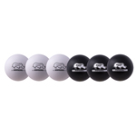 7 INCH RHINO SKIN DODGEBALL SET BLACK/WHITE