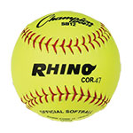 12 INCH SYNTEX LEATHER COVER SOFTBALL 47 CORK CORE