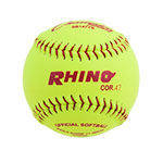 11 INCH SYNTHETIC LEATHER COVER SOFTBALL 47 POLY CORE