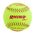 12 INCH SYNTHETIC LEATHER SOFTBALL 47 POLY CORE
