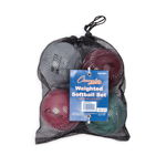 WEIGHTED TRAINING SOFTBALL SET OF 4