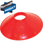 SAUCER FIELD CONE RED