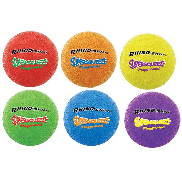 RHINO SKIN SUPER SQUEEZE PLAYGROUND BALL SET