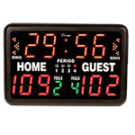 MULTI SPORT TABELTOP INDOOR ELECTRONIC SCOREBOARD WITH REMOTE
