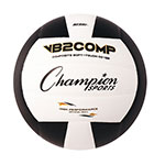 OFFICIAL SIZE COMPOSITE VOLLEYBALL BLACK