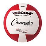 OFFICIAL SIZE COMPOSITE VOLLEYBALL RED